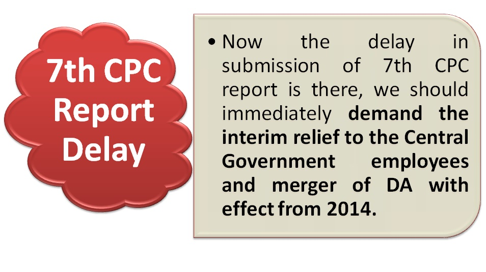 Extension of 7th CPC Term for 4 months: Confederation demands Interim Relief w.e.f. 2014