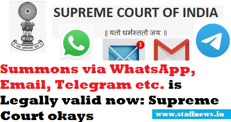 summons-via-whatsapp-email-telegram-etc-is-legally-valid-supreme-court