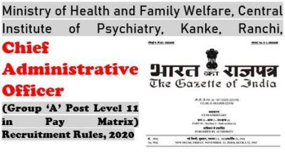 chief-administrative-officer-recruitment-rules-2020