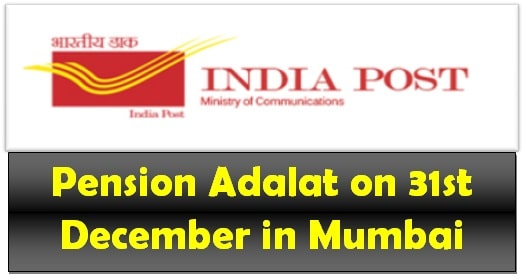 Pension Adalat on 31st December in Mumbai