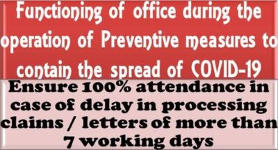 ensure-100-attendance-in-case-of-delay-in-processing-claims-letters