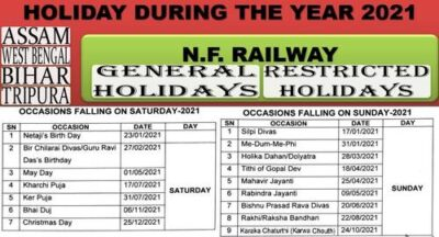 holiday-list-during-the-year-2021-for-offices-of-n-f-railway