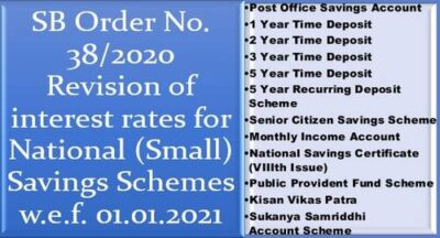 revision-of-interest-rates-for-national-small-savings-schemes-w-e-f-01-01-2021-sb-order-no-38-2020