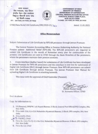 submission-of-life-certificate-by-nps-ar-pensioner-through-jeevan-pramaan-cpao