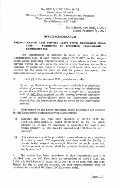 central-civil-services-leave-travel-concession-rules-dopt-om-04-02-2021