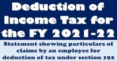 deduction-of-income-tax-for-the-fy-2021-22-format-of-statement