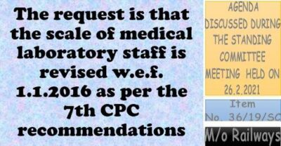 7th-cpc-recommendations-for-revision-of-pay-scale-of-medical-laboratory-staff