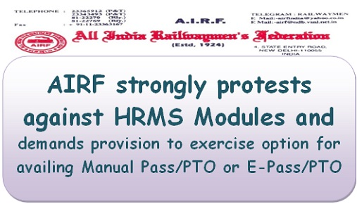 Implementation of various modules of HRMS – AIRF
