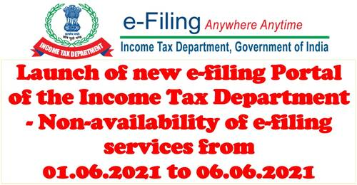 Income Tax Department is going to launch a new e-Filing Portal